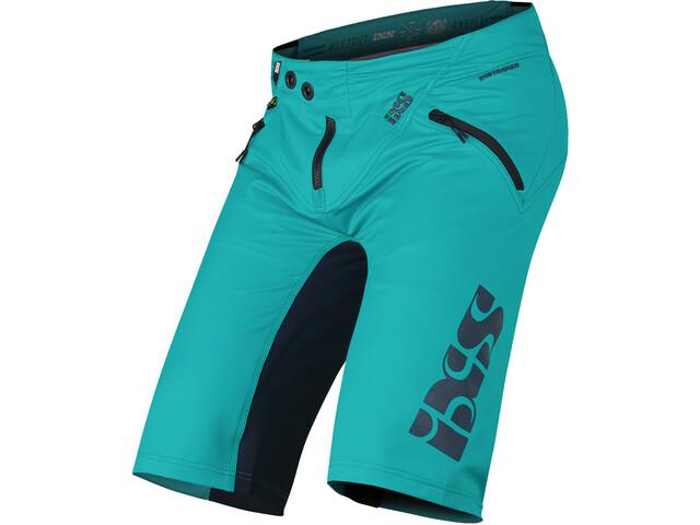 IXS Trigger Spodnie krótkie Mężczyźni, turkusowy/szary